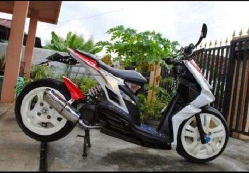 Modifikasi Honda Beat Low Rider