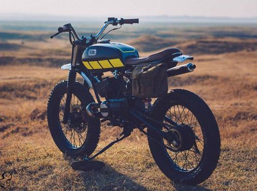 "Modifikasi Yamaha RX King ""Scrambler"""