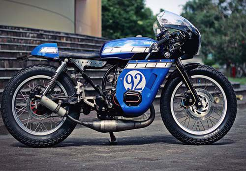 "Modifikasi Yamaha RX King ""Cafe Racer"""