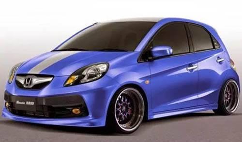 Gambar Modifikasi Honda Brio Ceper