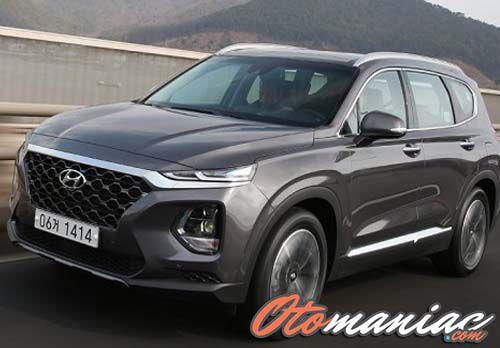 Harga New Hyundai Santa FE 2018