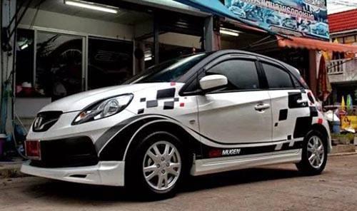 Kumpulan Modif Mobil Brio Putih Terbaik