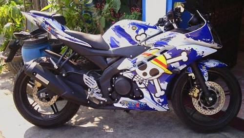 Modif Decal Sticker Yamaha R15