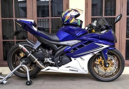 Modif Motor Yamaha R15 Limbah Moge