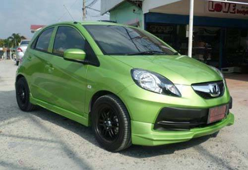 Modifikasi Honda Brio Bodykit