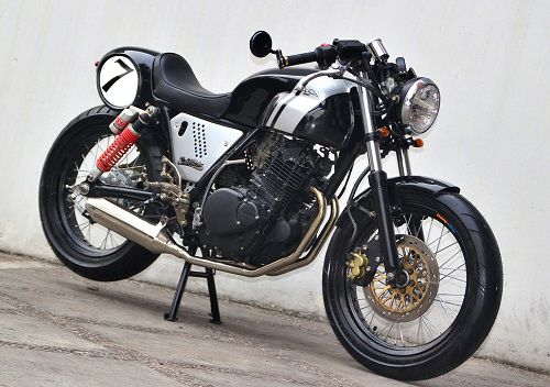 Modifikasi Yamaha Byson Cafe Racer 2
