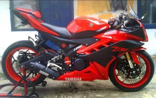 Modifikasi Yamaha R15 Limbah Moge