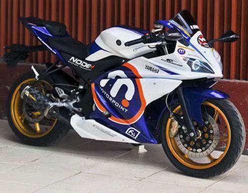 Modifikasi Yamaha Vixion Full Fairing