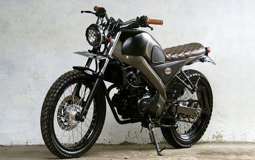 Modifikasi Yamaha Vixion Scrambler 2