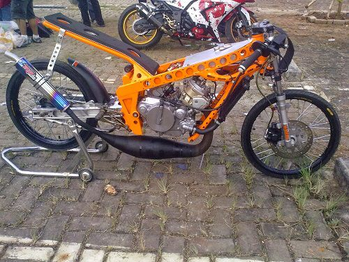 "Modifikasi Yamaha RX King ""Drag"""