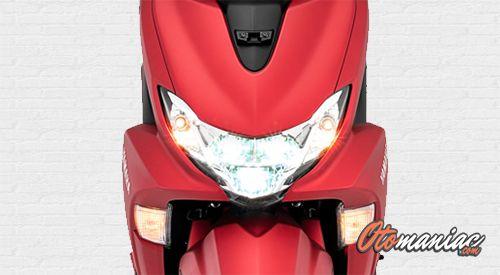 Desain dan Dimensi Yamaha Freego S