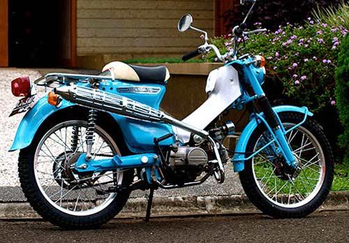 Modifikasi Honda C70 Adventure