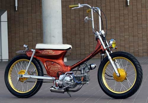 Modifikasi Honda C70 Chopper