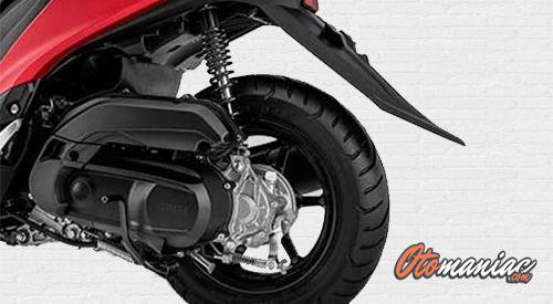 Suspensi dan Kaki - Kaki Yamaha Freego S
