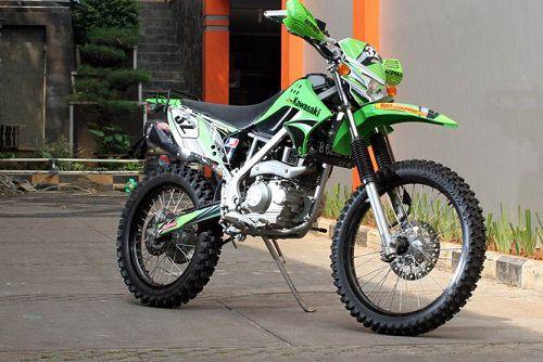 Modifikasi Kawasaki KLX Adventure