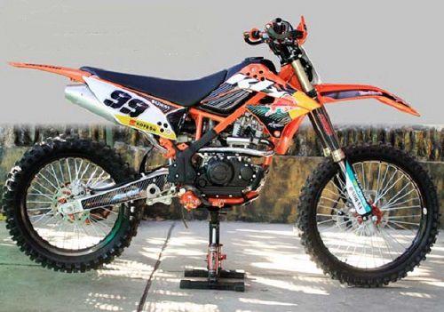 Modifikasi Kawasaki KLX KTM