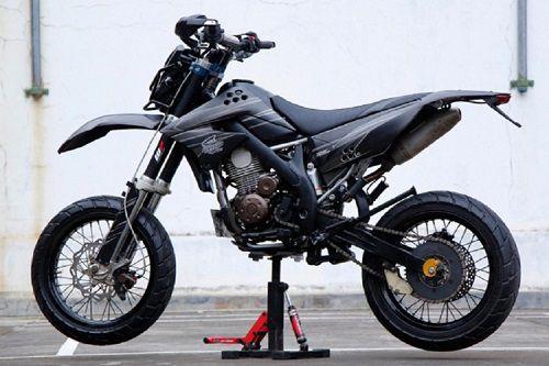 Modifikasi Kawasaki KLX supermoto