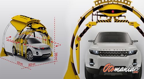 Alat Cuci Motor & Mobil Mesin Cuci Otomatis SATO