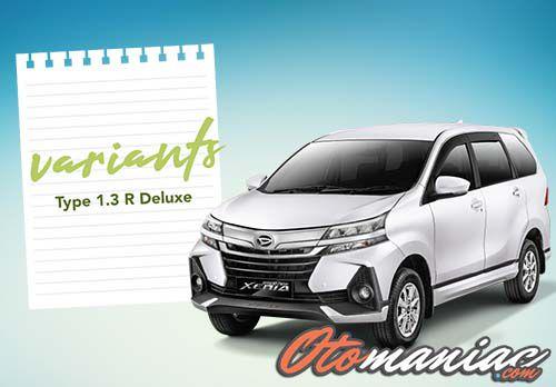 Spesifikasi Dan Harga Daihatsu Grand New Xenia