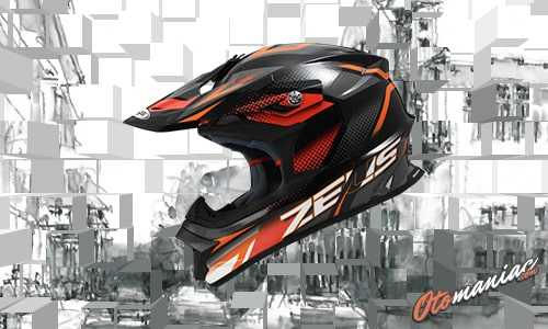 Harga Helm Zeus Full Face MX