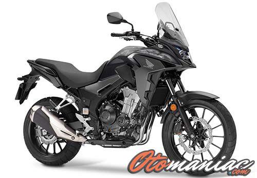 Spesifikasi Honda CB500X 2019