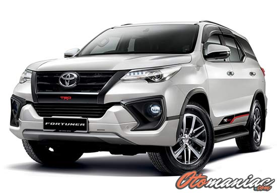Harga Mobil SUV Toyota Fortuner
