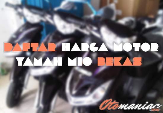Harga Motor Mio Bekas