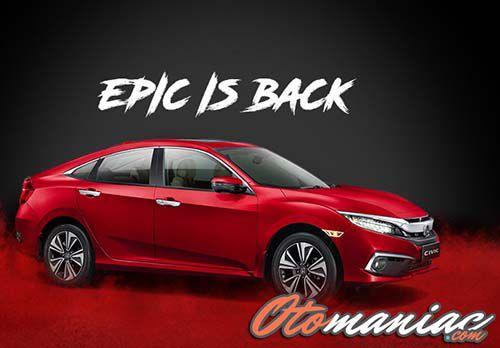 Biaya Pajak Honda Civic Terbaru