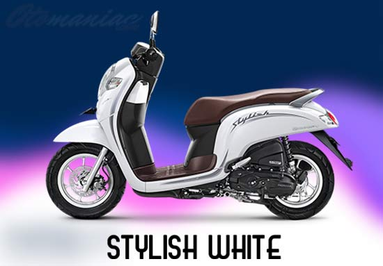 Warna Honda Scoopy Putih