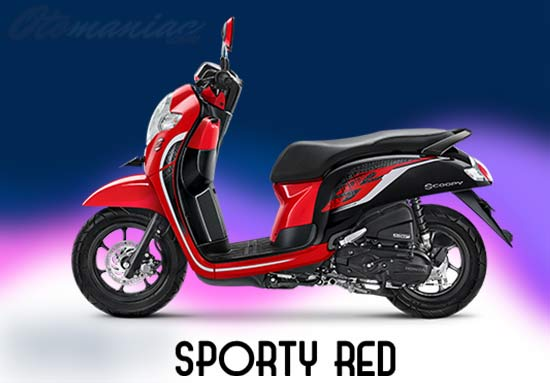 Warna Honda Scoopy