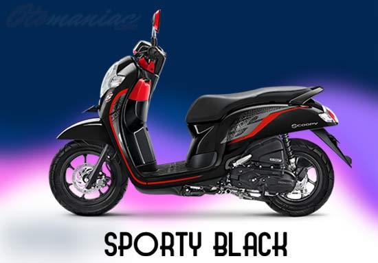 Warna Motor Honda Scoopy
