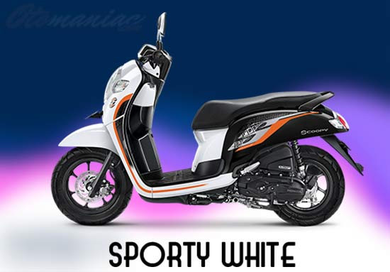 Warna Scoopy Putih