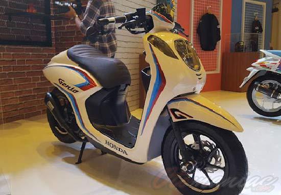 Modifikasi Motor Genio Cafe Racer