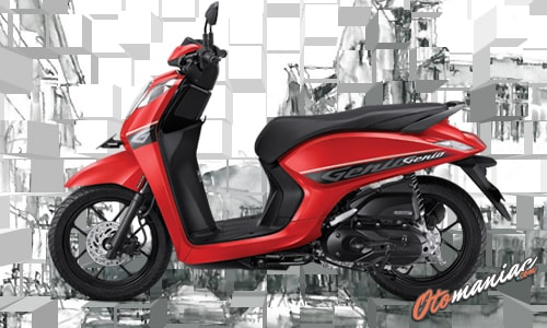 Pilihan Warna Honda Genio CBS 1