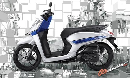 Pilihan Warna Honda Genio CBS 3