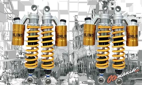 Shockbreaker OHLINS Aerox 155