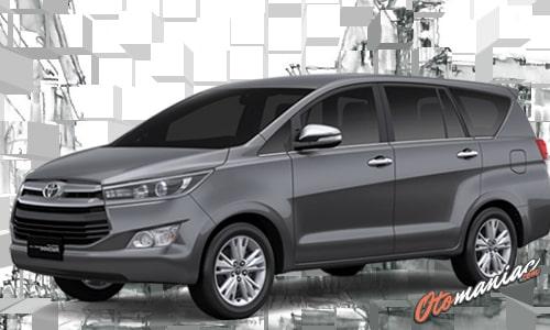 Warna Toyota Kijang Innova Dark Gray Mica Metalica