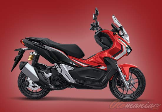 Warna Honda ADV ABS Advence Red