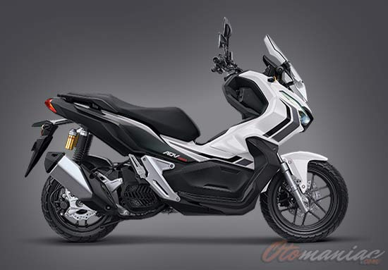 Warna Honda ADV ABS Advence White