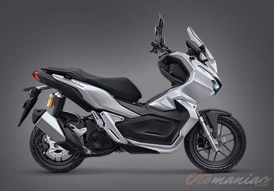 Warna Honda ADV ABS Silver