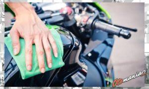 Cara Mengkilapkan Body Motor Paling Efektif