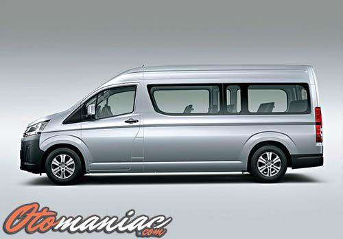 Desain Toyota Hiace Terbaru