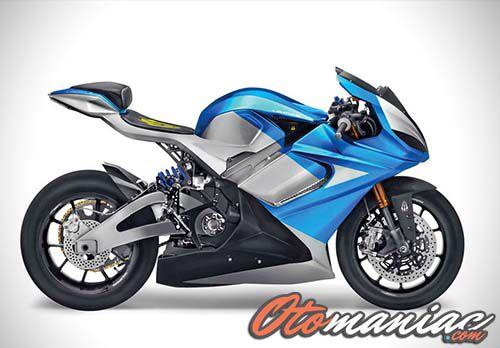 Motor Listrik Sporty Di Indonesia