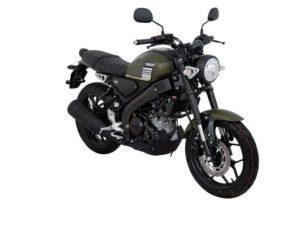 Warna Yamaha XSR155 Abu-Abu