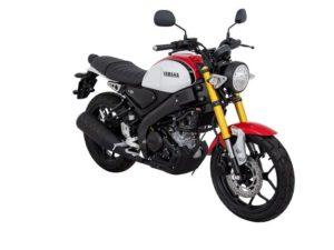 Warna Yamaha XSR155 Merah Putih