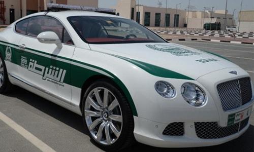 Mobil Polisi Tercepat Bently Continental GT