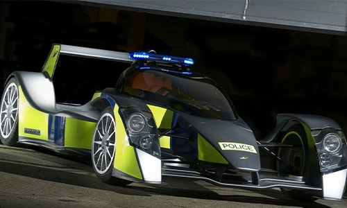 Mobil Polisi Tercepat Caparo T1 RRV