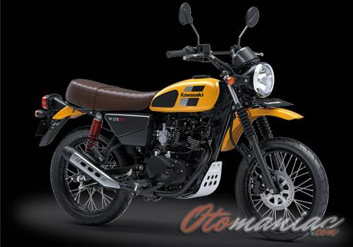 Harga Kawasaki W175TR SE