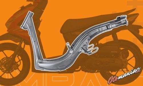 Rangka eSAF All New Honda BeAT