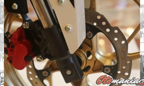 Suspensi dan Kaki - Kaki Honda CBF190X